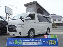トヨタ ハイエースバン FOCS エスパシオ+UP 8ナンバー ギャレーキット FFヒーター