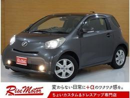 トヨタ iQ 1.0 100G レザーパッケージ ハーフレザーシート/エンスタ/冬タイヤAW付