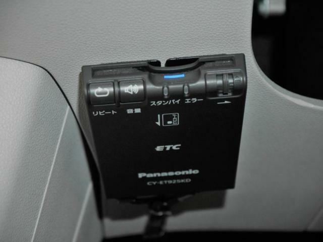 ETCを装備しています。高速道路の出入り口のストレスを緩和致します。