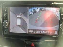 バックモニター付きです。車の後方に小型カメラが付いており、バックする際の後方の様子をモニター上に表示します。小型カメラに傷がなく、キレイな状態なので、クリアな映像が映し出されます。