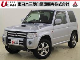 三菱 パジェロミニ 660 ナビエディション VR 4WD 禁煙車/ETC/ワンセグナビ/純正アルミ