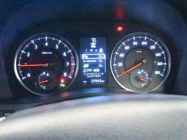 見やすく先進的なデザインのメーターで照度コントロール付きオプティトロンメーターでセンター部には4.2インチTFFの大型カラーディスプレイに運転状況等を表示ドライバーに多彩な情報をていきょうします。