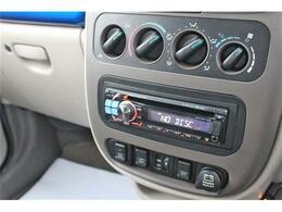 アルパイン製社外オーディオが装備済。