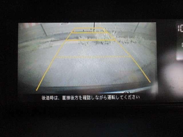 HDDナビフルセグDVD 録音 Bカメ両Pスラ 大人気装備のバックカメラ付いております。車庫入れ&バック時の死角を減らし楽々安心です!