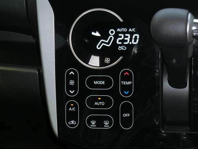 タッチパネル式オートエアコン!