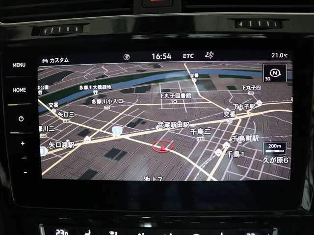9.2インチ大画面純正ナビ(ディスカバープロ)です。フルセグTVも観られますし、Bluetooth接続も可能です。