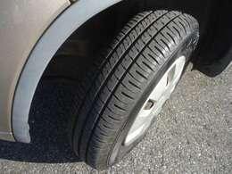 タイヤの状態まだ山もありますので大丈夫です。