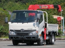日野自動車 デュトロ 2t 10尺 3段ラジコンフックイン 内寸-長246x幅160x高37
