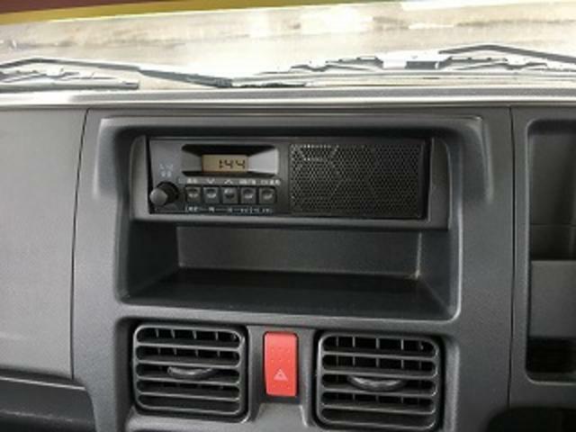 AM/FMラジオ装備してます