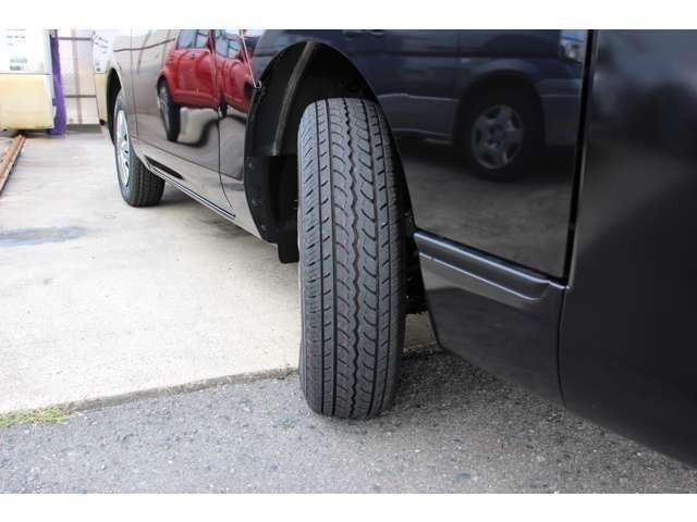タイヤの溝もたっぷりです☆