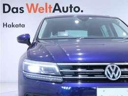 国民車を意味するVolkswagenは誰にも愛されるデザイン性が特徴です。