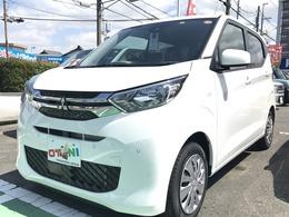 三菱 eKワゴン 660 M 軽自動車 新品ナビ 衝突軽減装置 5年保証付