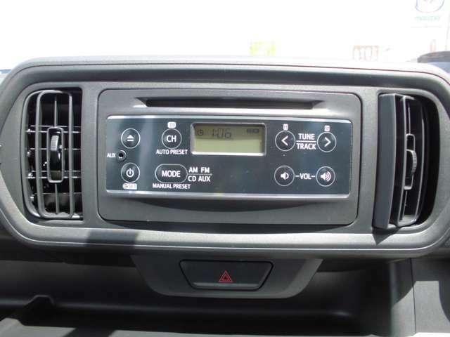CD・ラジオ装着
