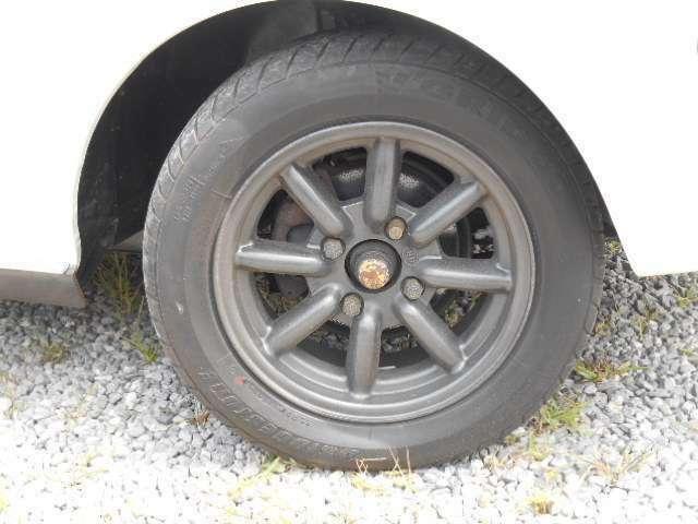 タイヤ4本新品に入替えました!