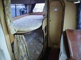 常設2段ベッド付き!!ベッド寸法190cm×100cm