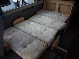 ダイネットスペースもベッドとしてご利用頂けます!ベッド寸法 185cm×100cm