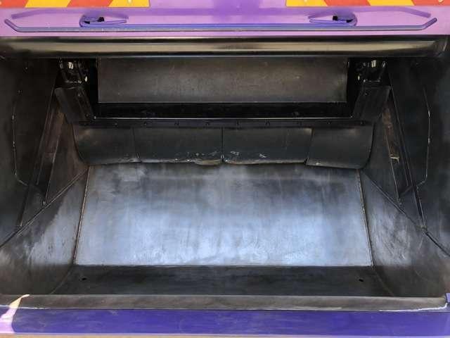 積込部、鉄板厚み十分でオイル漏れもございません!