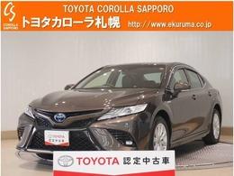 トヨタ カムリ 2.5 WS E-Four 4WD 試乗車UP・トヨタセーフティセンス付