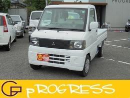 三菱 ミニキャブトラック 660 VX-SE エアコン付 4WD タイベル交換済 CDデッキ