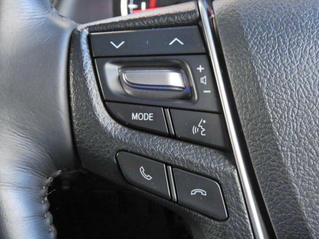 【ステアリングスイッチ】・・・オーディオなどのスイッチをステアリングに設定。 ステアリングから手を離さずに操作でき、運転に集中できます。