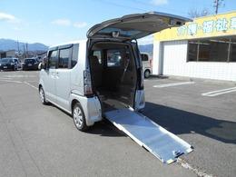 ホンダ N-BOX+ 660 G 車いす仕様車 リヤスロープ リヤシート付き