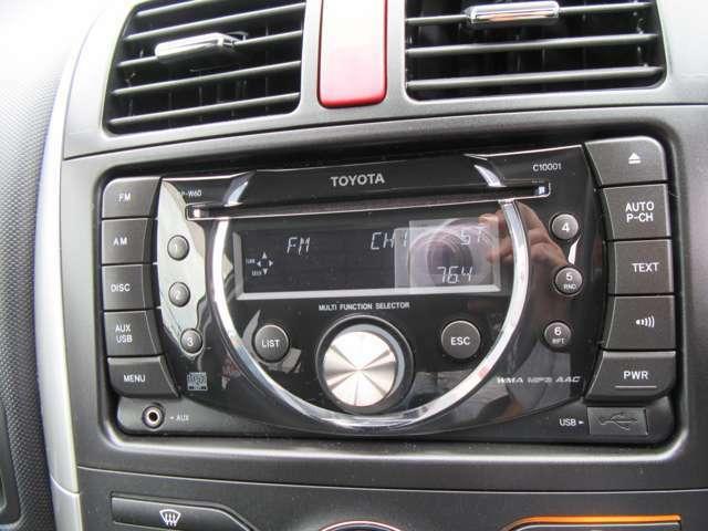 トヨタ純正CDラジオチューナー