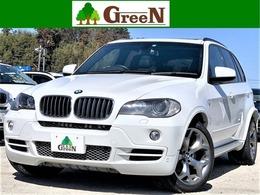 BMW X5 3.0si 4WD 黒革パノラマSRマフラー20AW後席モニター