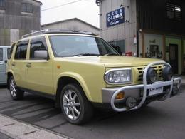 日産 ラシーン 1.5 タイプL 4WD タイミングチェーン サンルーフ アルミ
