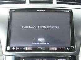 「カーナビ」 カロッツェリア製8インチのナビ付きで知らない土地のドライブも安心!