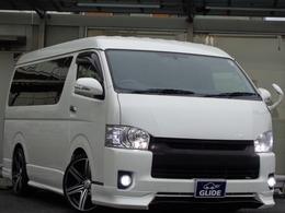 トヨタ ハイエース 2.7 GL ロング ミドルルーフ バッドフェイス フルエアロ ベッド 20AW
