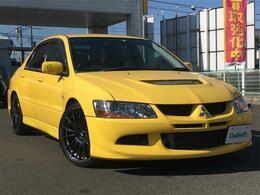 三菱 ランサーエボリューション 2.0 GSR VIII 4WD 6MT/車高調/19インチAW/RECARO/GTウィング
