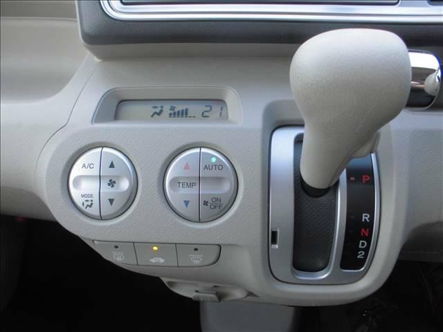 快適なオートエアコンです。全車エアコン点検も行っております。