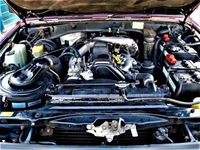 1KZ 3000cc 直列4気筒のターボ車になりますので、力強く、高速運転でもさほど苦にならないと思います★