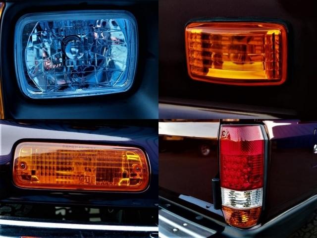 灯火類は新品をインストール!各部マットブラック塗装とボディーカラーとの相性がバッチリです!!