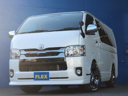 FLEXの中古ハイエースは全車2年間走行距離無制限保証付き!安心整備の証拠です!