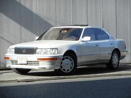米国レクサス LS 400 新車並行車 オリジナル 左ハンドル ベージュレザー 純正16inc