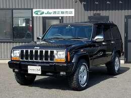 正規ディーラー車 2000モデル (2001年登録車)【XJ型Jeep最終型】 ■最終モデルリミテッド専用純正16インチアルミホイール■新品TOYOオープンカントリーオールテレンタイヤ4本