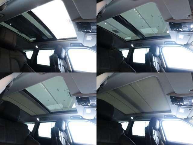 【スライド式パノラミックサンルーフ メーカーオプション参考価格312.000円】解放感たっぷりのスライディングパノラミックルーフは車内の解放感や快適性を高め晴れの日には気持ちよい外気をもとりこめます。
