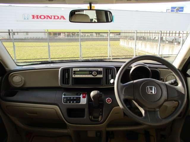 視野を広くとることができるように設計されているのでとても運転がしやすいですよ!