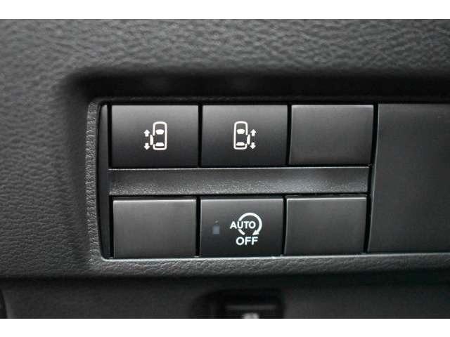 両側電動スライドドアの操作スイッチです。運転席からの開閉も可能です。