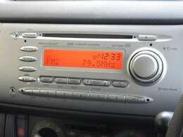 ステラに付いているオーディオはスバル純正CDオーディオが装着されております。CDプレーヤー・AM/FMチューナー付です。お好みの音楽を聞きながらのドライブは楽しさ倍増ですね!