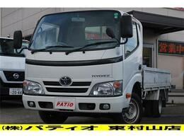 トヨタ トヨエース 2.0 ロング ジャストロー 5速MT ガソリン車 走行3.3万キロ ETC