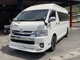 トヨタ ハイエース 2.7 グランドキャビン 4WD ナビ/バックカメラ/リアモニター/ETC