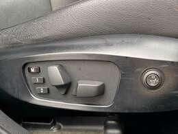 運転席はシートメモリー機能付き、電動シート。シートヒーターも搭載しております♪