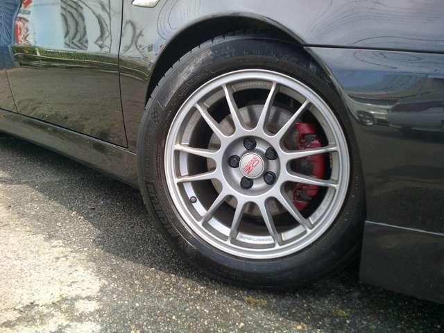OZRACING16インチアルミホイール付きです!タイヤもまだまだ使って頂けます