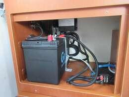 サブバッテリーシステム 外部電源 500Wインバーター