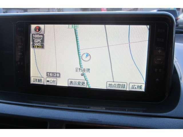 HDDナビも装備されておりますので初めて行く場所も迷わず走行でき安心です!ミュージックサーバー機能も付いております!