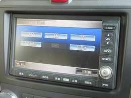 ナビゲーションはホンダ純正HDDナビが装着されております。AM、FM、CD、DVD再生、音楽録音再生がご使用いただけます。初めて訪れた場所でも道に迷わず安心ですね!