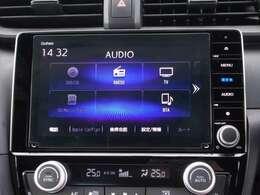 純正メモリーナビ(VXU-197SGi)です。DVD/CD再生のほかにもフルセグTV、ミュージックサーバー、USB接続、Bluetooth連携機能も装備されとっても便利です!