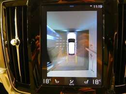 360度ヴューモニターで楽々駐車
